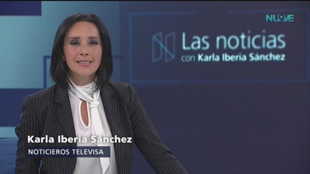 Las Noticias, con Karla Iberia: Programa del 10 de septiembre de 2018