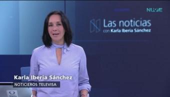 Las Noticias, con Karla Iberia: Programa del 21 de septimbre de 2018