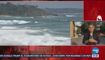Continúa La Alerta Mar De Fondo Costas De Oaxaca