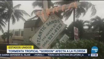 Tormenta Tropical Gordon Afecta Florida