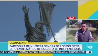 Guanajuato Alista Preparativos Ceremonia Grito Independencia