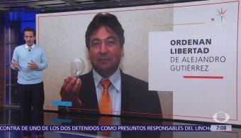 Liberan a Alejandro Gutiérrez por falta de pruebas de desvío en Chihuahua