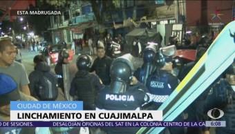 Linchan a un hombre en la delegación Cuajimalpa