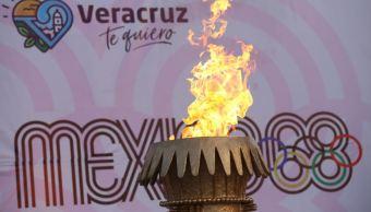 Llega fuego olímpico a puerto de Veracruz