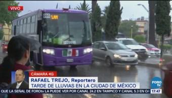 Lluvia Complica Vialidades Inmediaciones Aeropuerto CDMX