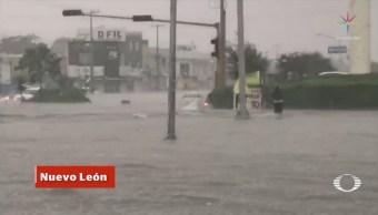 Lluvias afectan gran parte de México