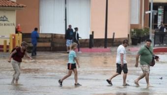 Clima BCS; suspenden clases por depresión tropical '19- E'