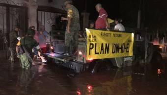 Lluvias en Sinaloa dejan tres muertos y tres personas desaparecida
