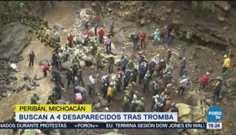 Localizan Con Vida Mujer Peribán Michoacán Escombros