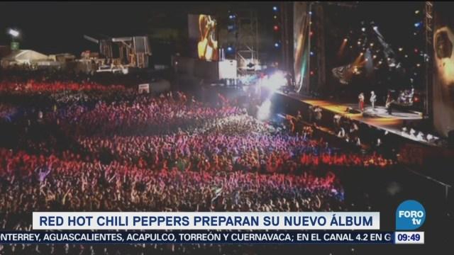 #LoEspectaculardeME: Red Hot Chili Peppers preparan su nuevo álbum