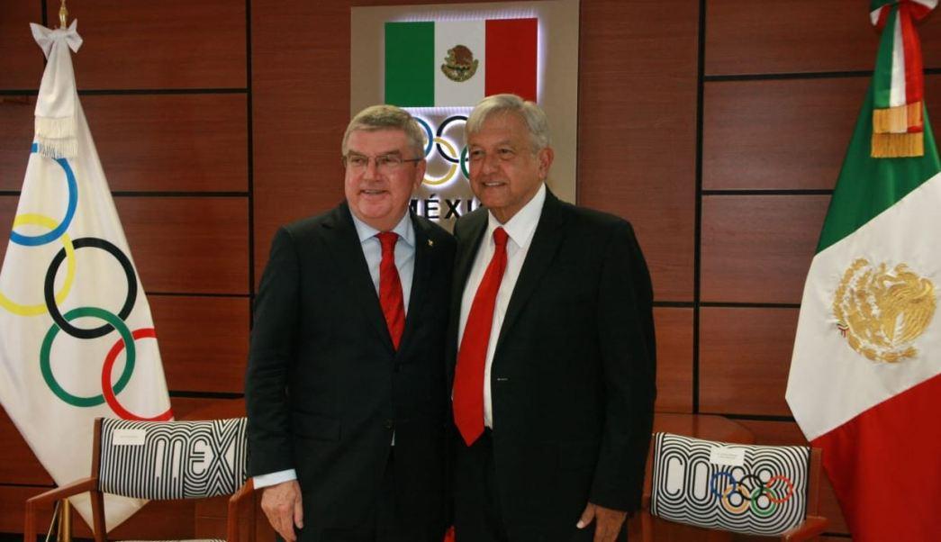 López Obrador apoyará a los deportistas olímpicos mexicanos