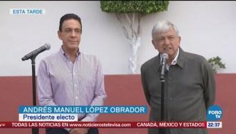 López Obrador Reúne Gobernador Omar Fayad