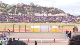 Estampida en un estadio en Madagascar deja un muerto