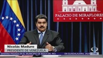 Maduro compara trato a venezolanos con persecución de Hitler