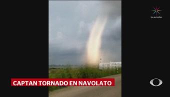 Tornado Sorprende Habitantes Navolato Sinaloa