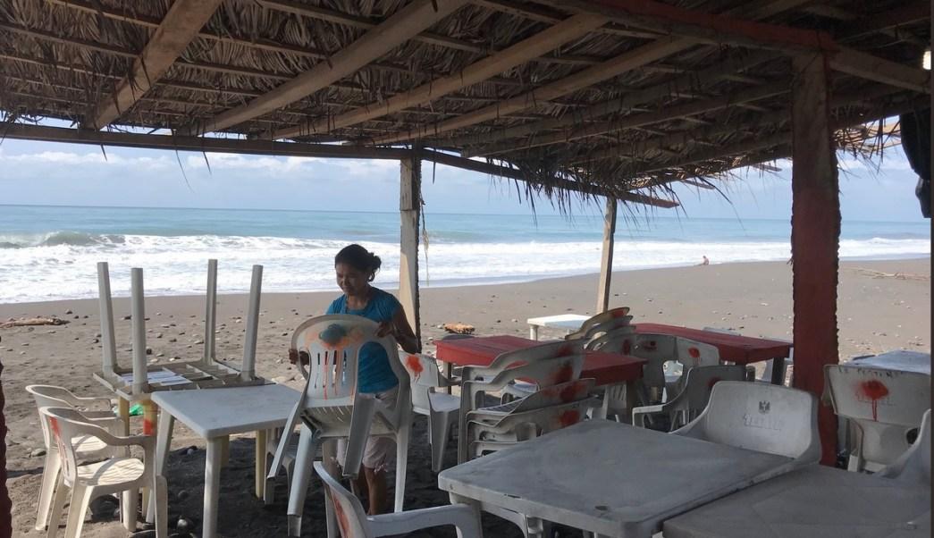 Clima Colima hoy; cierran playas por mar de fondo