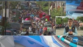 Marchan Chilpancingo Por Normalistas Desaparecidos Asesinados
