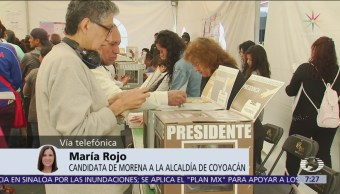 María Rojo aplaude anulación de elección en Coyoacán