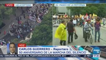 Más de 10 mil personas conmemoran Marcha del Silencio