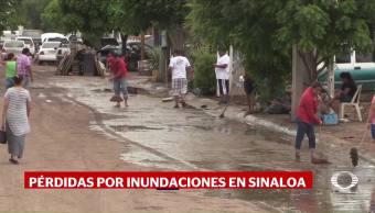 Personas Continúan Albergues Inundaciones Sinaloa Lluvias