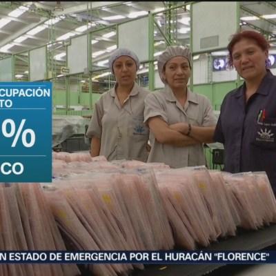 México, entre países con baja desocupación: OCDE