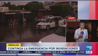 Militares Ayudan Damnificados Inundaciones Culiacán Sinaloa