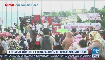 Mitin Chilpancingo Completa Calma Normalistas Desaparecidos