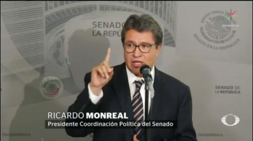Monreal rechaza negociación entre Morena y Partido Verde