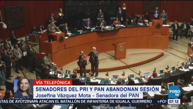 Morena actúa de forma unilateral en Senado: PAN