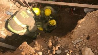 Muere trabajador tras colapsar construcción en Oaxaca