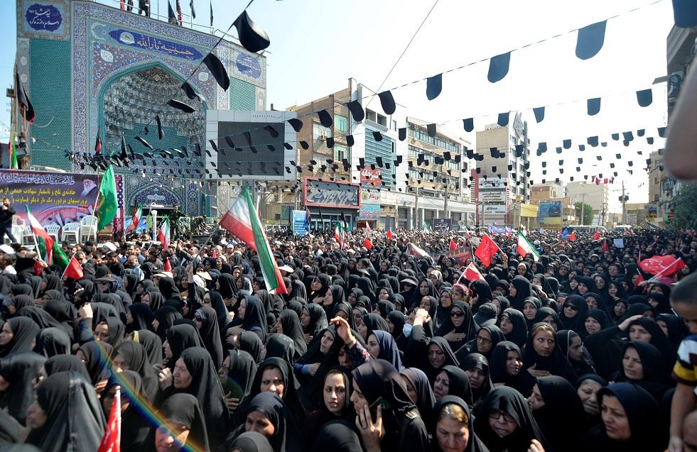 Irán realiza funerales de víctimas del atentado en Ahvaz