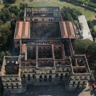 Unesco ofrece ayuda para reconstruir el Museo Nacional de Río de Janeiro