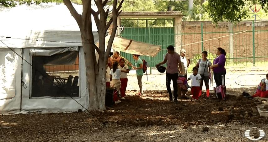 Sismo 19S: En Morelos, los damnificados viven en carpas y el Hospital del IMSS en Cuautla aún debe ser recostruido (Noticieros Televisa)
