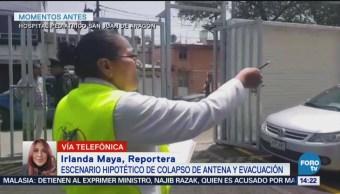 Evacúan Hospital Pediátrico San Juan De Aragón