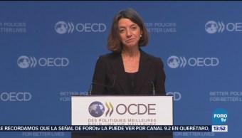 OCDE reduce pronóstico de PIB de México a 2.2% anual