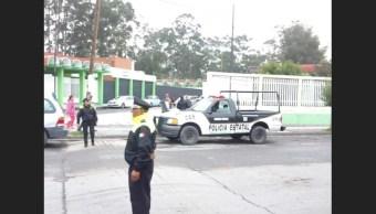 Hallan artefacto explosivo en escuela de Chalco, Edomex