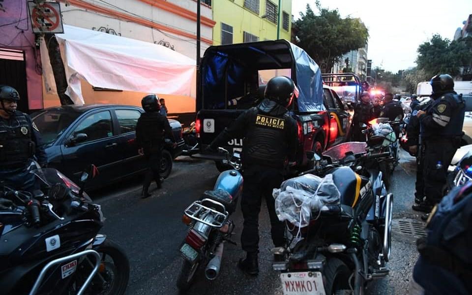 Mandos policiacos fabrican enfrentamientos en CDMX