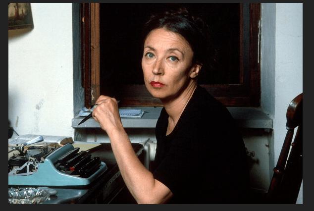 Oriana Fallaci en 1979. (Getty Images, archivo)