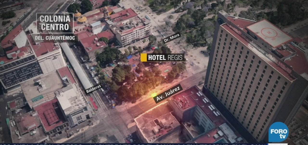 Así Fue La Caída Emblemático Hotel Regis Sismo De 1985