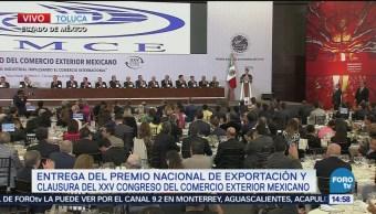 Peña Nieto Encabeza Entrega Premio Nacional Exportación