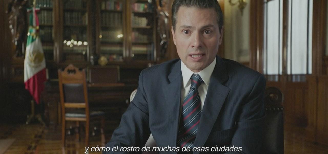 Peña Nieto: Me entregué en cuerpo y alma a servir a la nación
