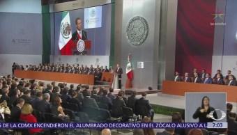 Peña Nieto ofreció su último Informe de Gobierno