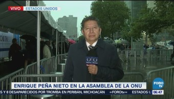 Peña Nieto participará en el debate general de la Asamblea