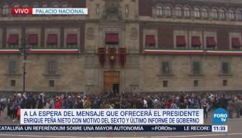 Peña Nieto se alista para su sexto informe de Gobierno