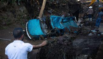 Suman siete muertos por lluvias en Peribán, Michoacán
