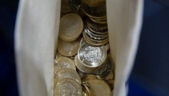 Peso mexicano se aprecia frente al dólar, cotización a 19.29