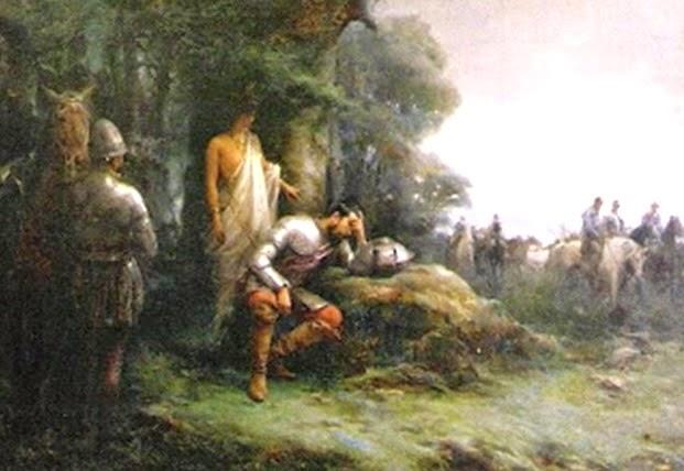 Guerra de las vírgenes durante la lucha de Independencia