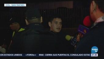 Policía Atropellado Alcoholímetro Cdmx