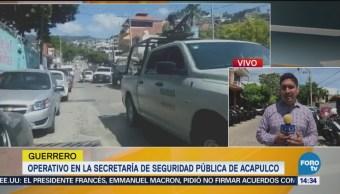 Policia Estatal atenderá, tras operativo en SSP de Acapulco