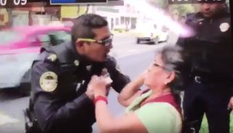 Video: Policía finge hijo mujer impedir extorsión